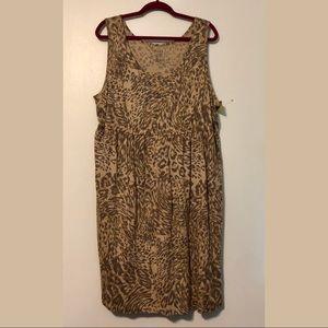 Sonoma Animal Print Everyday Dress